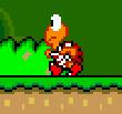 SMW Screenshot Roter Koopa