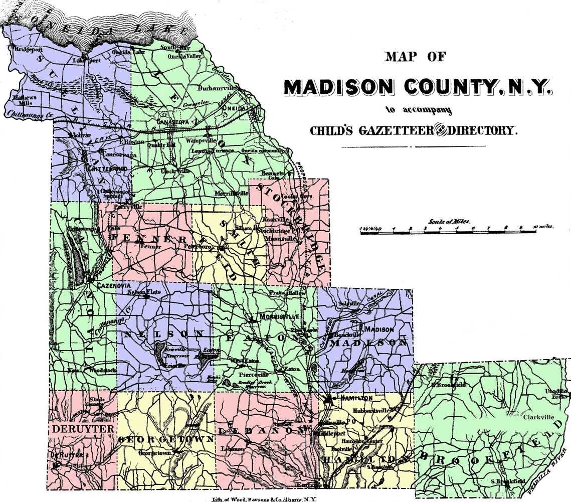 Madison County New York Map  Hot Girls Wallpaper