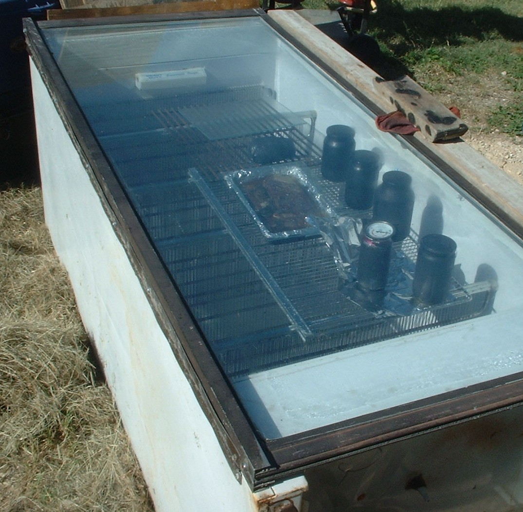 how to make a small solar cooker