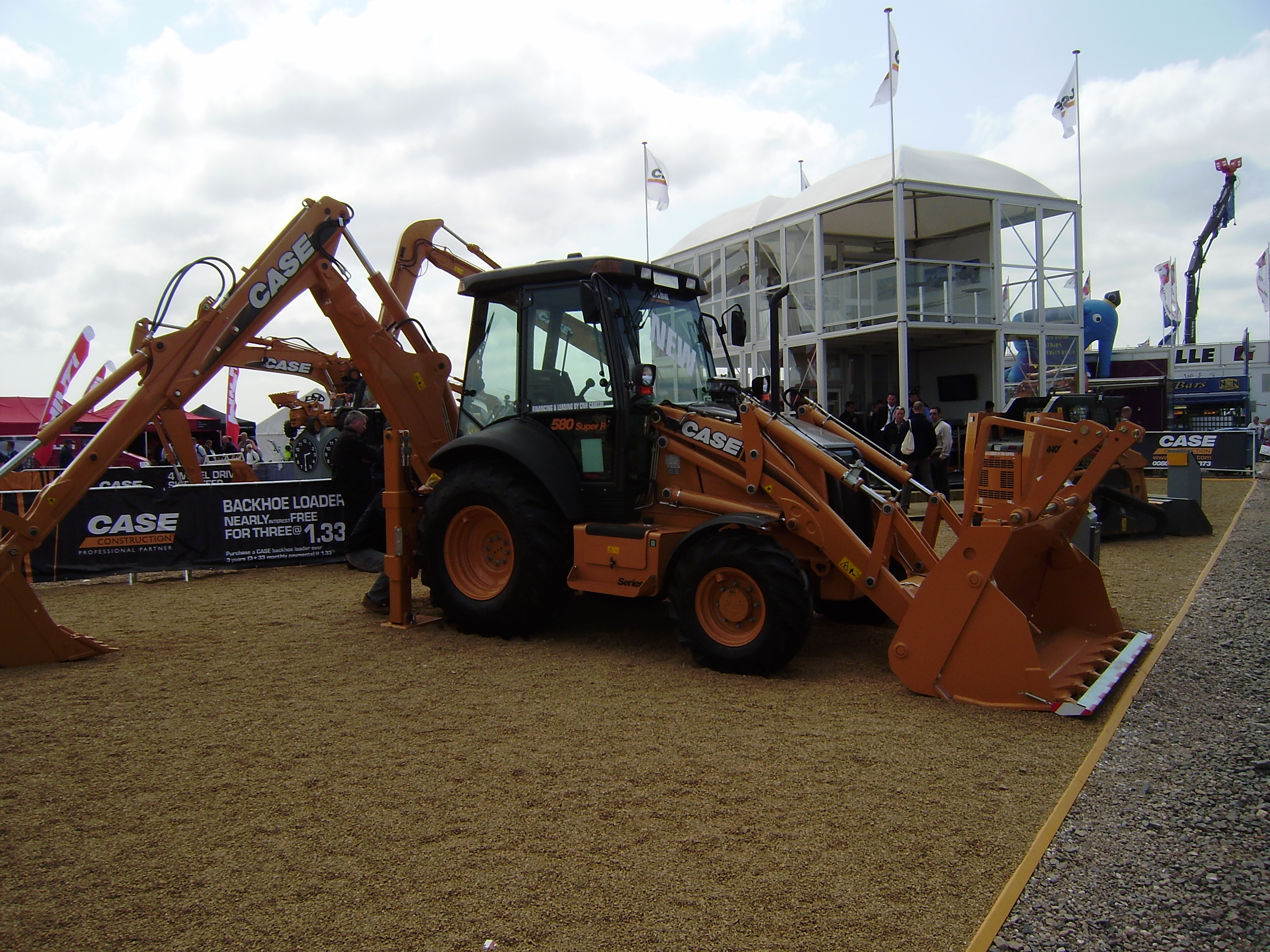 Case Backhoe Loader : Case ce tractor construction plant wiki the classic