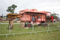 Marshall threshing machine Hollcot