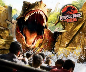 Jurassic Park: The Ride (Hollywood) - Park Pedia ...