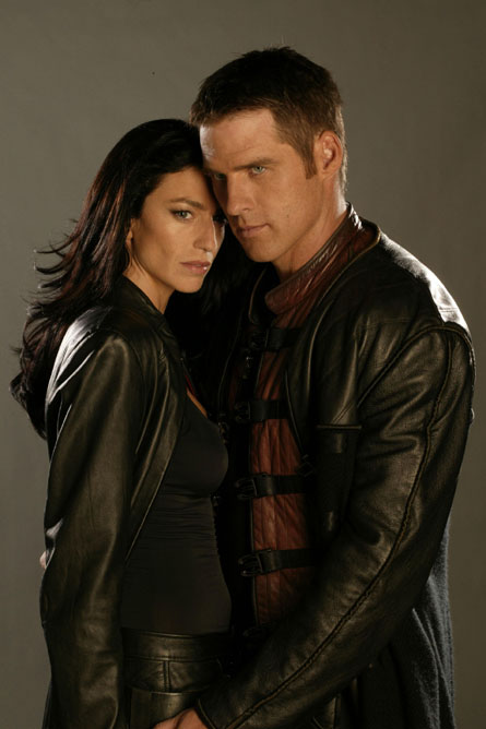 ben browder and claudia black relationship