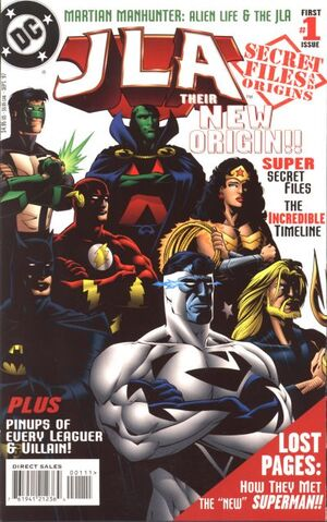 Cover for JLA Secret Files and Origins #1 (1997)