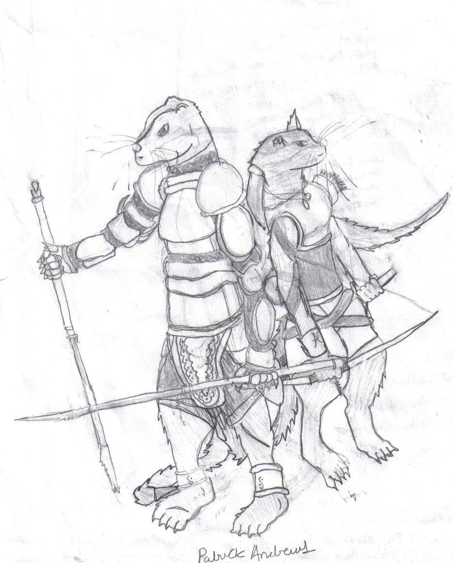 Free Coloring Pages Of Redwall Otter Redwall Coloring Pages