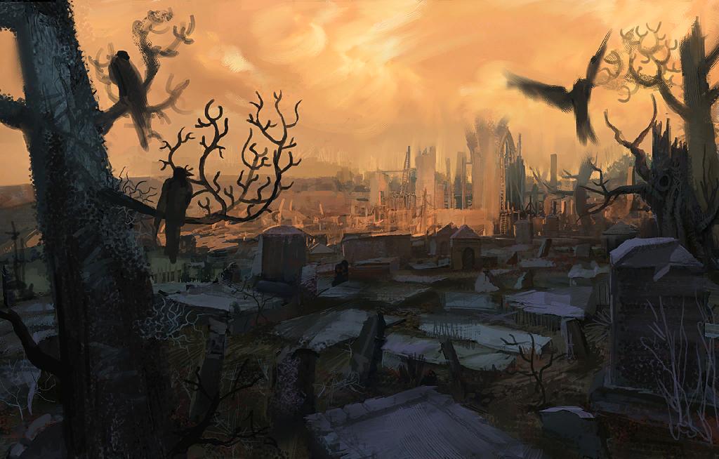 Les Masques de Tromedlov - Partie I : Les secrets du cimetière Loading_Cemetery_day