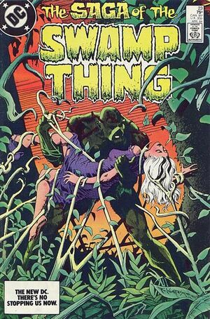 Cover for Swamp Thing #23 (1984)