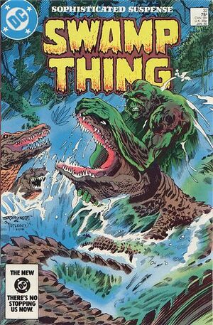 Cover for Swamp Thing #32 (1985)