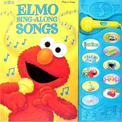 SING-ALONG SONGS Play-a-Song Book (Hardcover) Phil Bliss Illustrated - 10 SONGS!