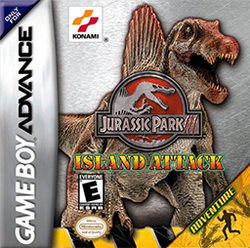 Jurassic Park III - Ilha Ataque Coverart-1-