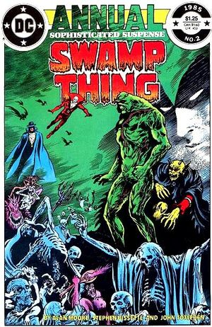 Cover for Swamp Thing Annual #2 (1985)