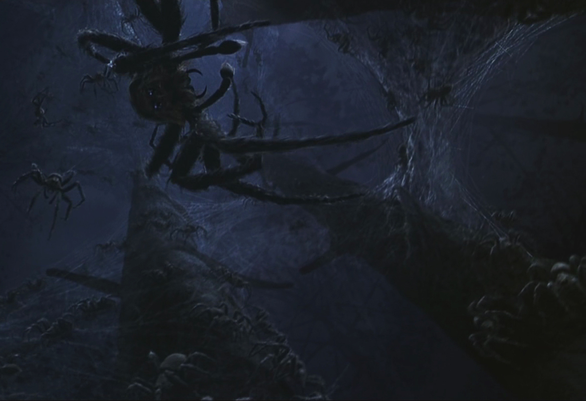 Forbidden Forest Acromantula colony - Harry Potter Wiki