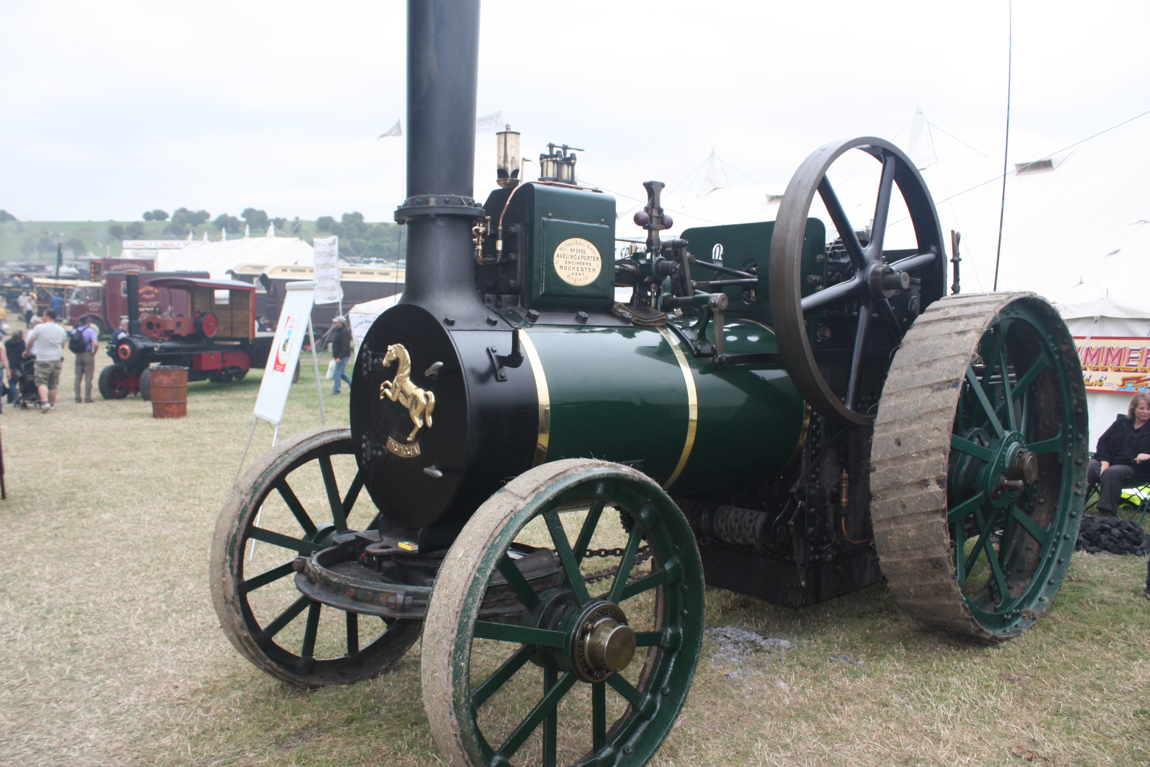 Aveling porter no 2436 tractor construction plant wiki the classic vehicle and - Porter international wiki ...
