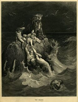 Gustave The Holy Bible The Deluge