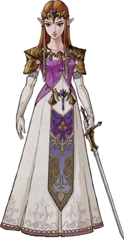 Princess Zelda Artwork (Twilight Princess)