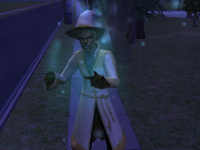 the sims 2 how to become a werewolf and vampite