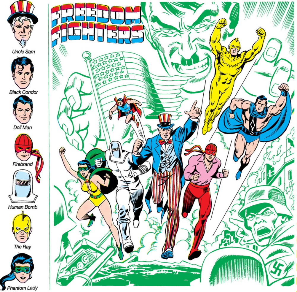 Freedom Fighters  Earth-x