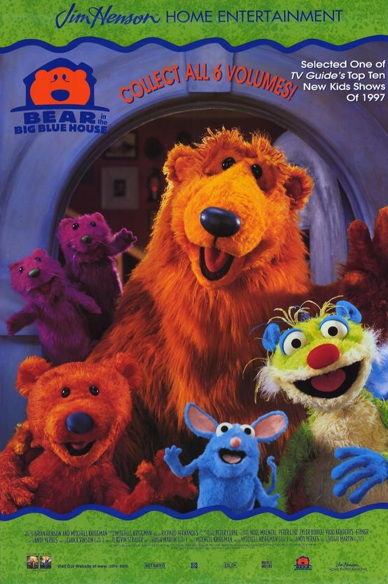 Bear in the Big Blue House: Promotion - Muppet Wiki