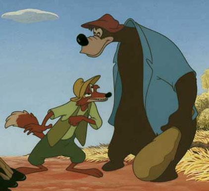 Brer Bear and Brer Fox - SpongeBob & Friends Adventures Wiki