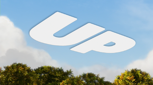 Up title card