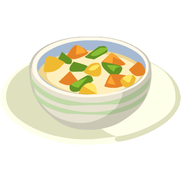 Chunky Vegetable Soup - Restaurant City Wiki - Ingredients, Recipes ...