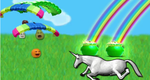 Annoying Orange meets Charlie the Unicorn - Annoying ...