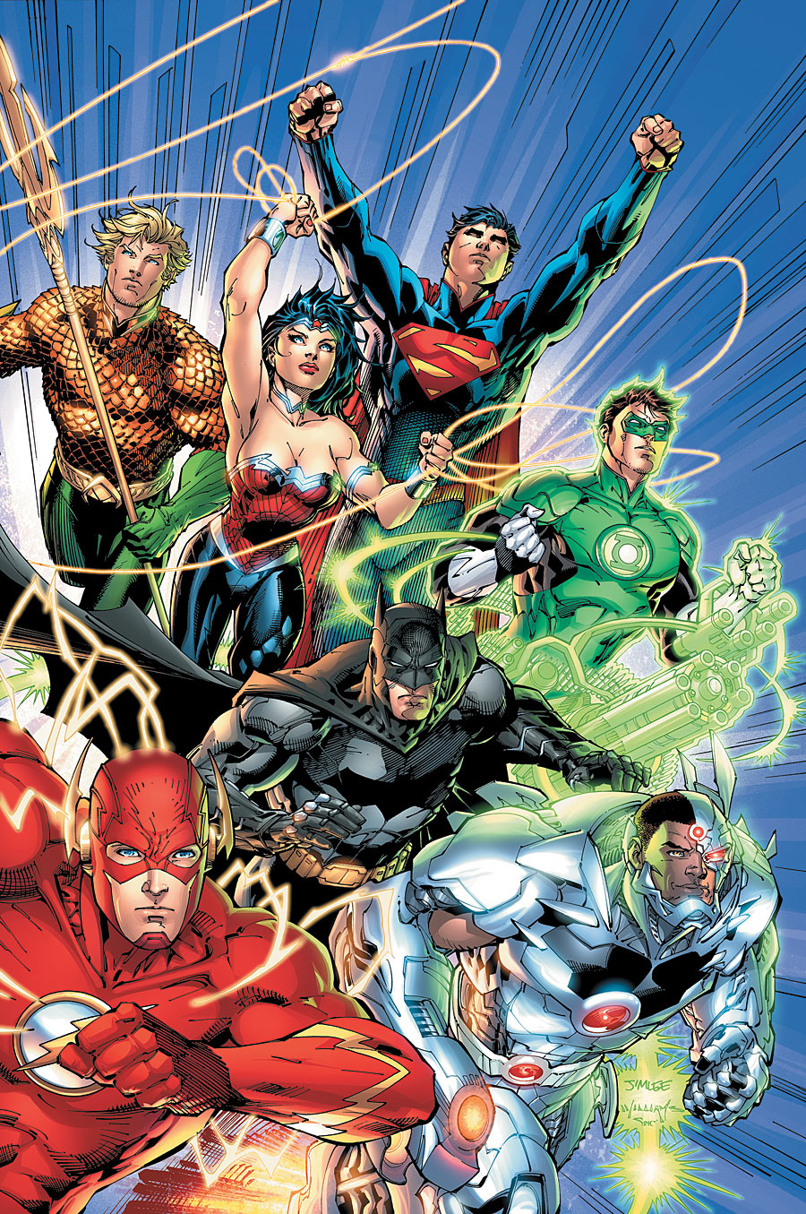 Awesomnistic: Justice League Vol. 1: Origin (The New 52)