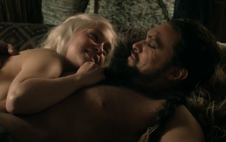 Khal Drogo and Daenerys