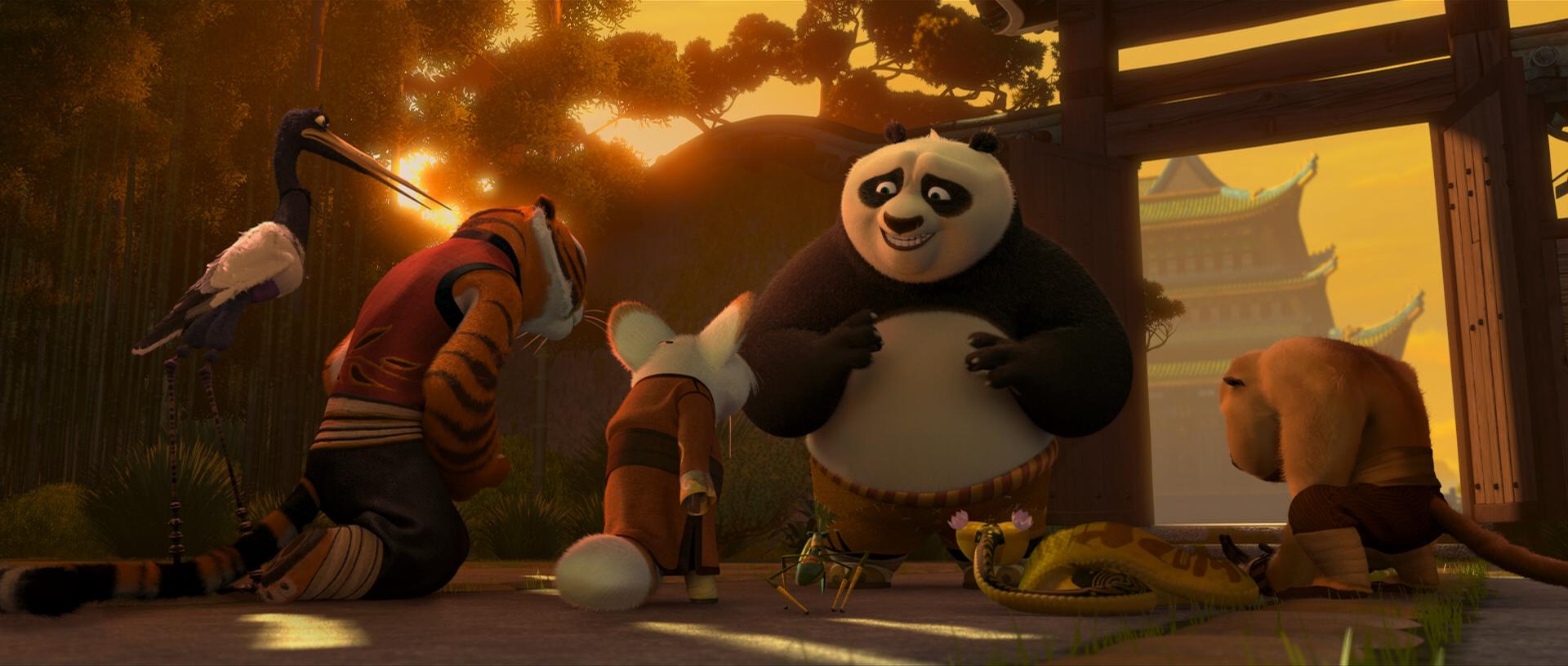 Fiveshifupo - Kung fu panda shifu ...