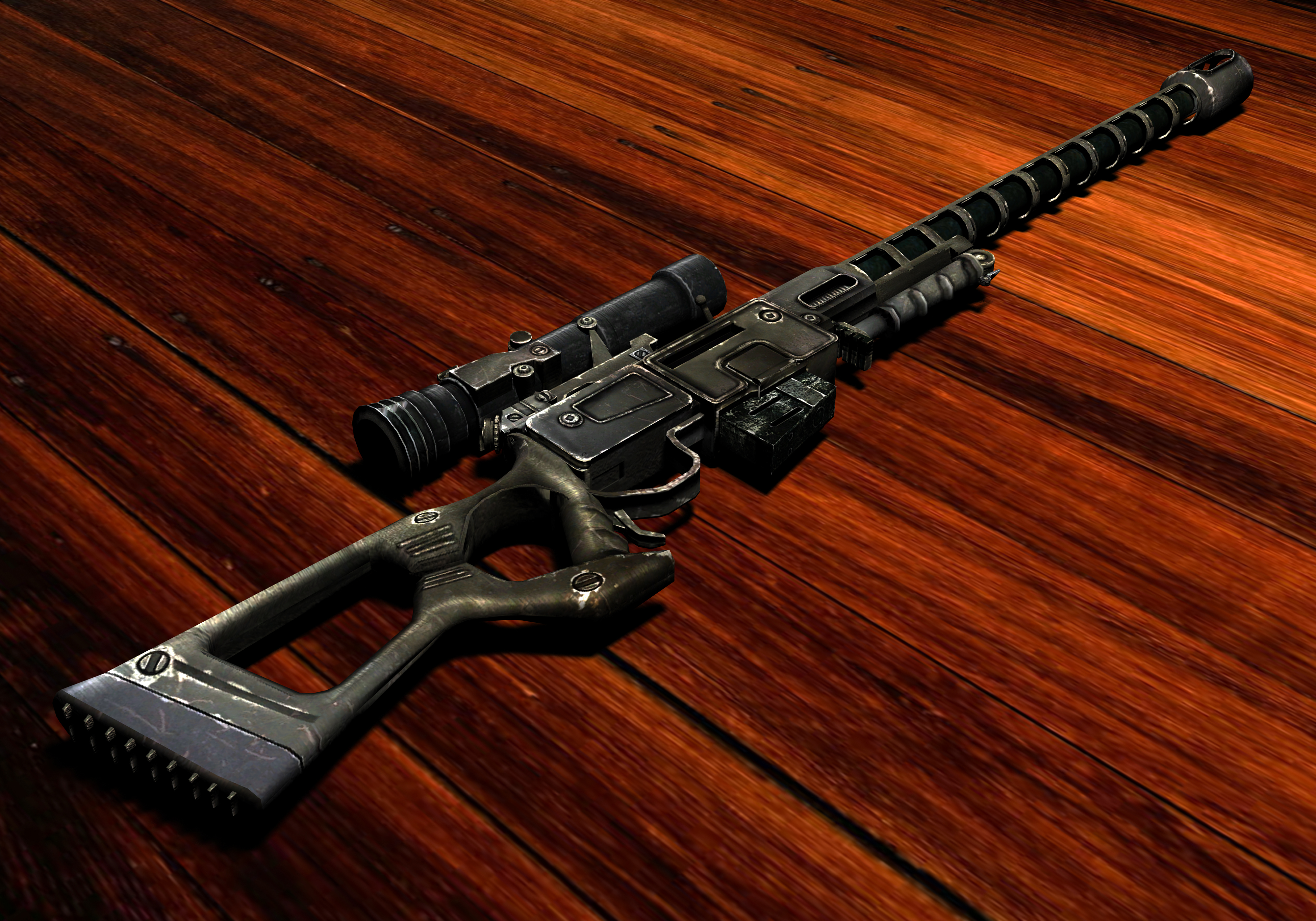 Sniper rifle (Fallout: New Vegas) - The Fallout wiki - Fallout: New Vegas and more