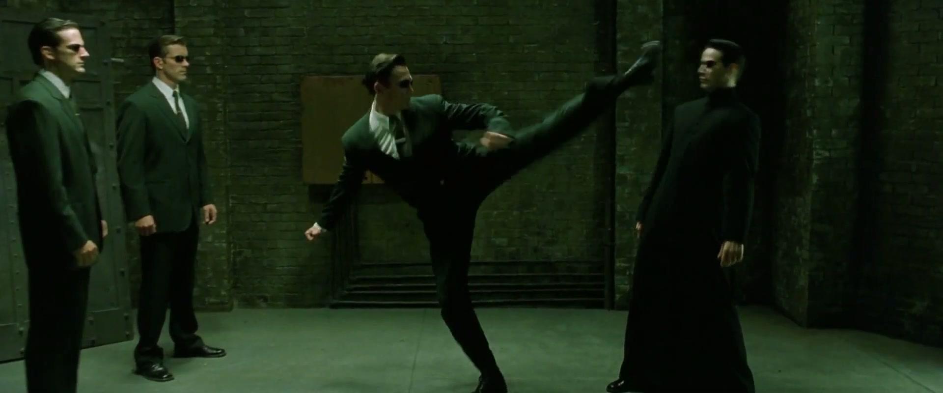 Agent Johnson Matrix Wiki Neo Trinity Wachowski Brothers