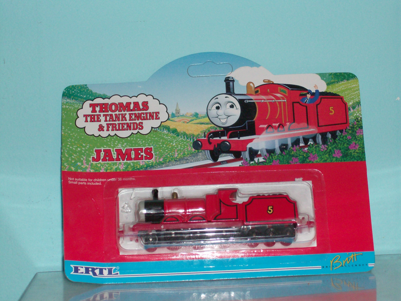 Thomas the Tank Engine ERTL locomotives and rail cars ... |Thomas The Tank Engine Ertl