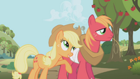 Applejack and Big Mac S1E04