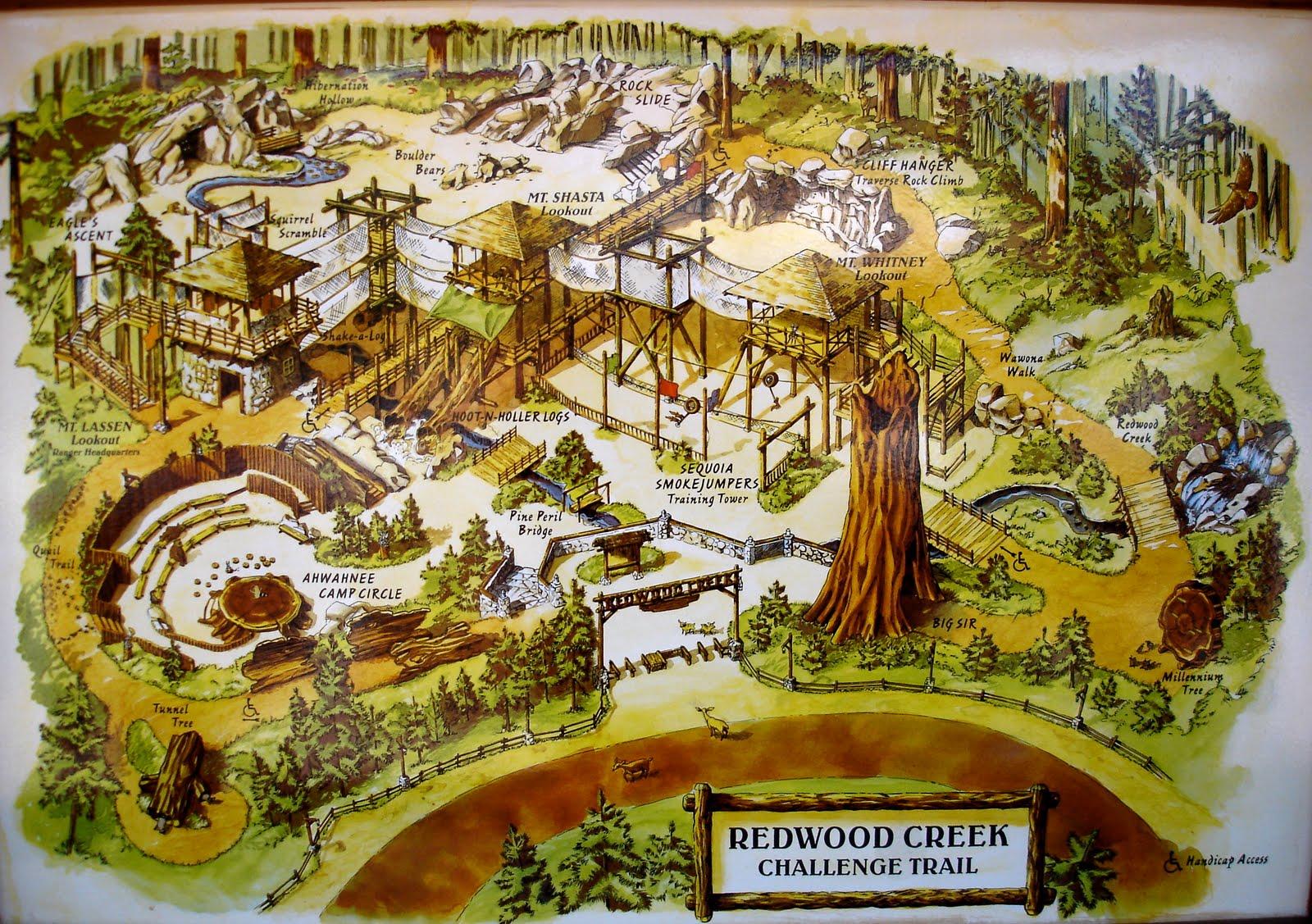Redwood Creek Challenge Trail Disneywiki