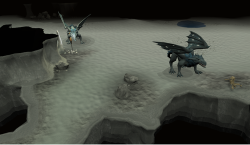 Asgarnian Ice Dungeon resource dungeon - The RuneScape Wiki Frost Dragon Runescape