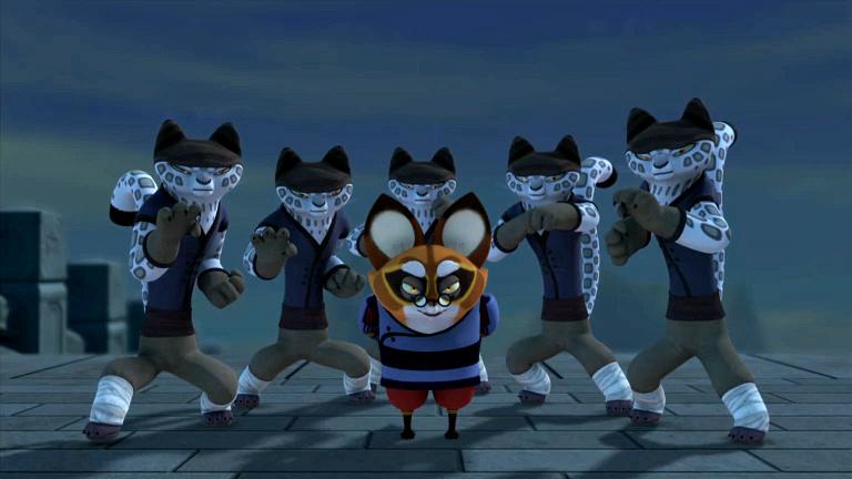 Kung fu panda master junjie - photo#5