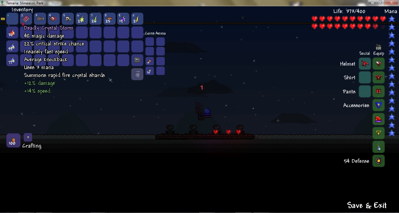 How To Craft The Mana Flower In Terraria
