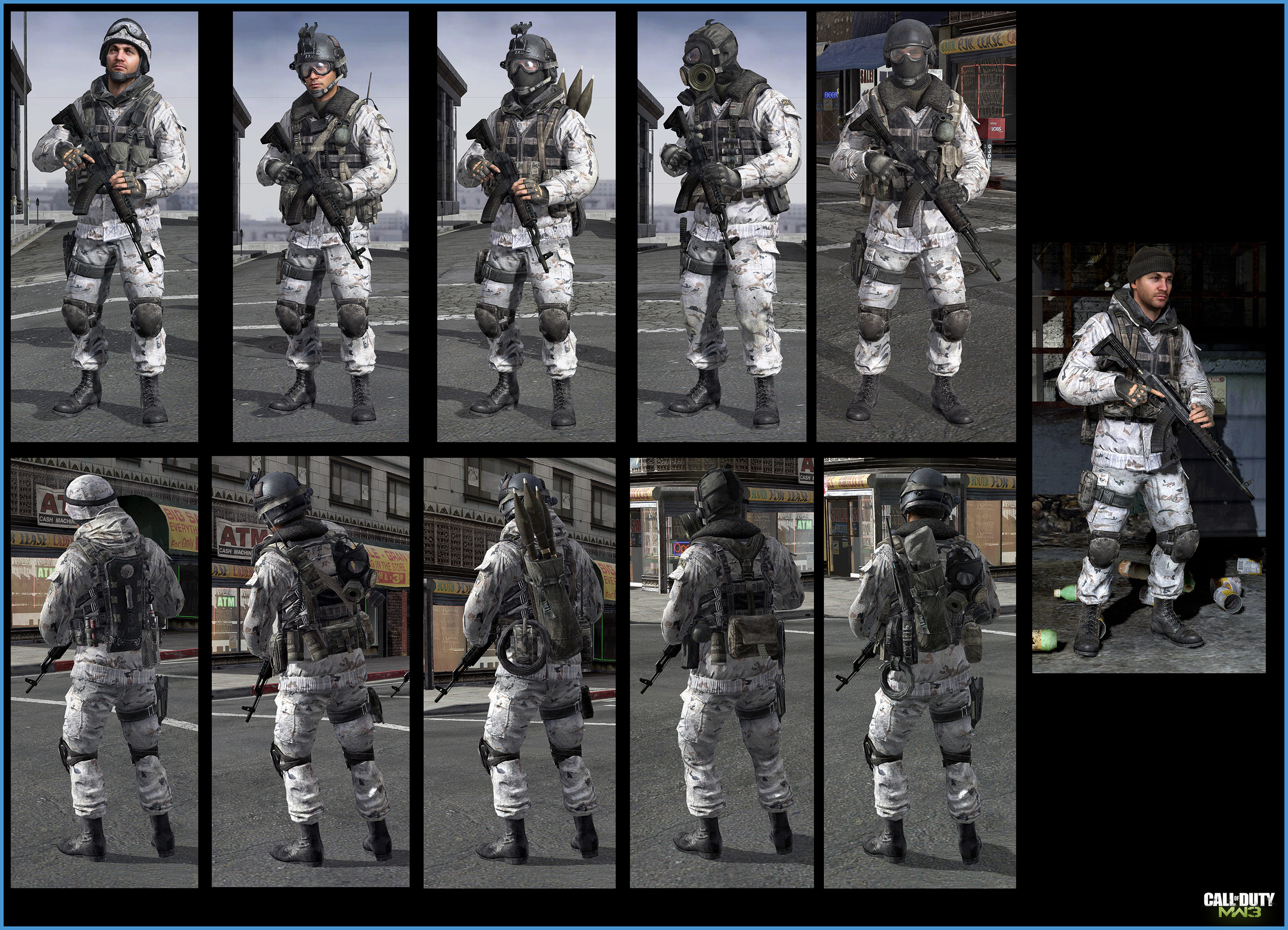 Frost MW3 Delta Force - Bing images
