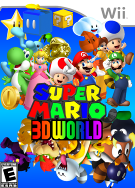 Super Mario 3D World The Real Final Boxart