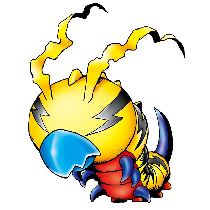 P.O Digimon. Kunemon_b