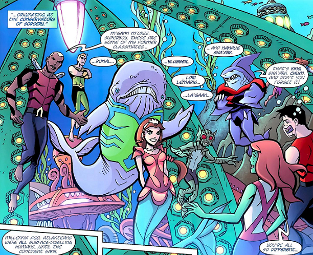 Atlantean - Young Justice Wiki: The Young Justice resource ...