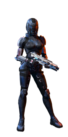 Human Female Infiltrator MP