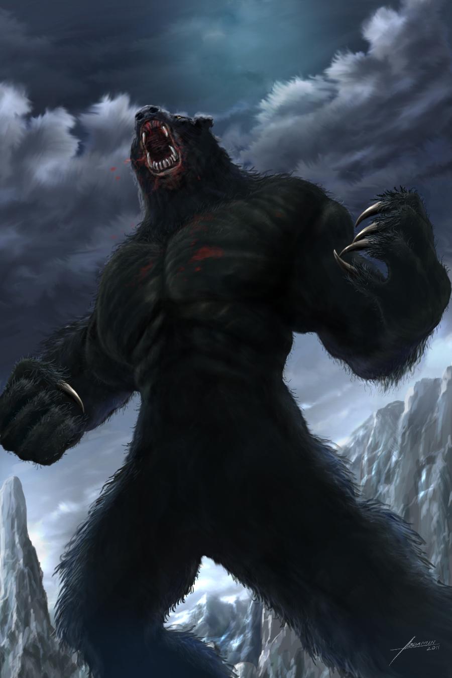Náhkôhá'e Bear_monster_(werebear)