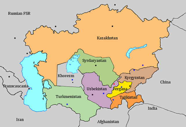 Where is kyrgyzstan on the world map member peoples socialist republics of su of turkestan gumiabroncs Choice Image