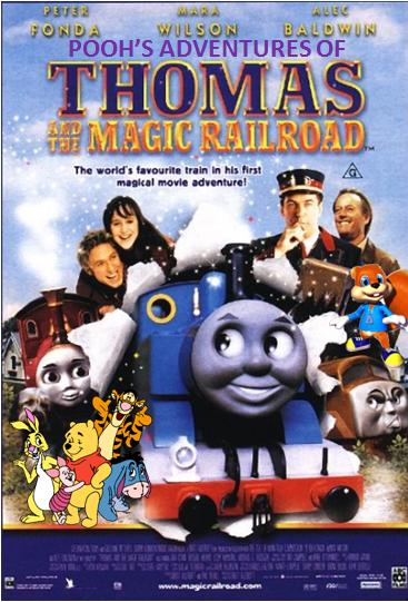 poohs adventures of thomas and the magic railroad