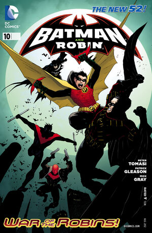 Cover for Batman and Robin #10 (2012)