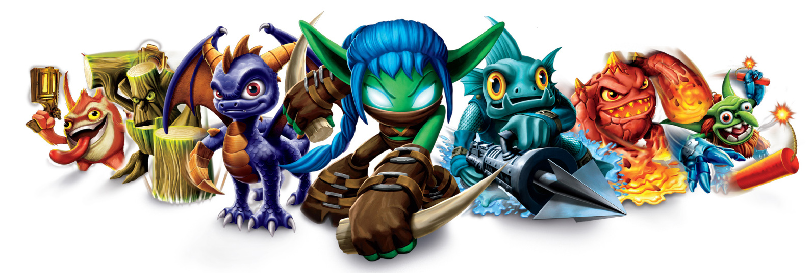 Skylanders - The Spyro Wiki - Spyro, Sparx, The Legend Of ...
