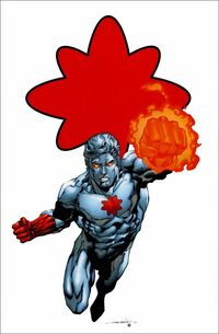 Captain Atom (Nathaniel Christopher Adam)