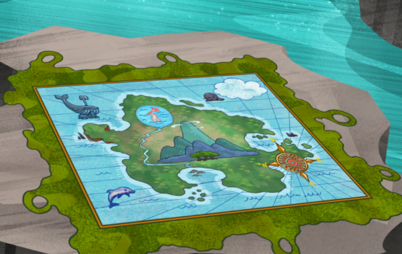 Jake and the Neverland Pirates Map - Imagui