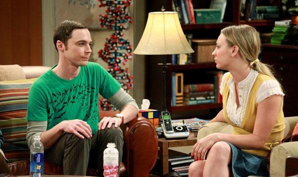 Sheldon dating penny